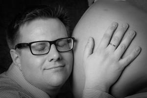 Gravid Västerorts Foto