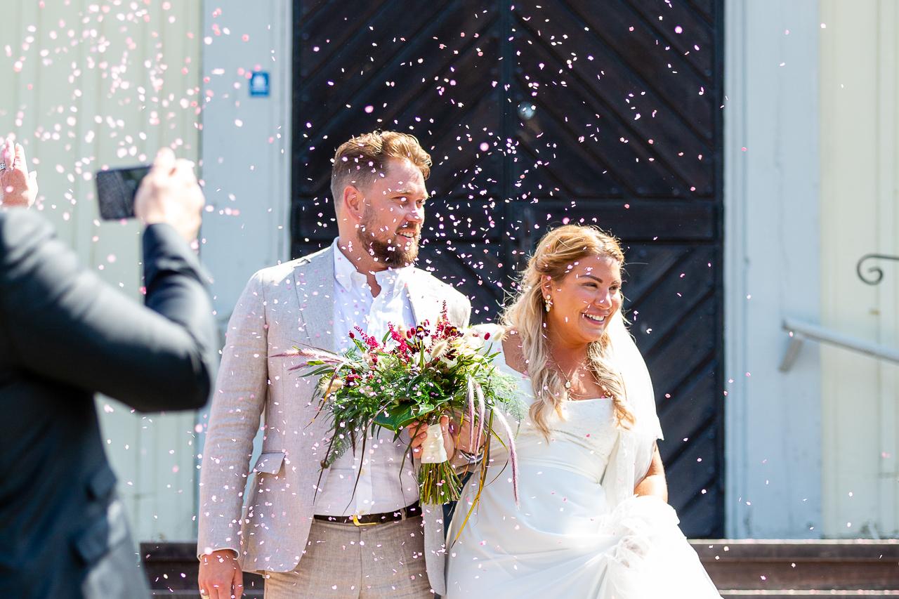 Bröllop Ingarö kyrka